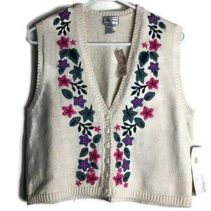 Vintage Weston Wear Embroidered Sweater
